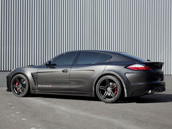 TopCar Porsche Panamera Stingray GTR 2011 cars modified wallpaper