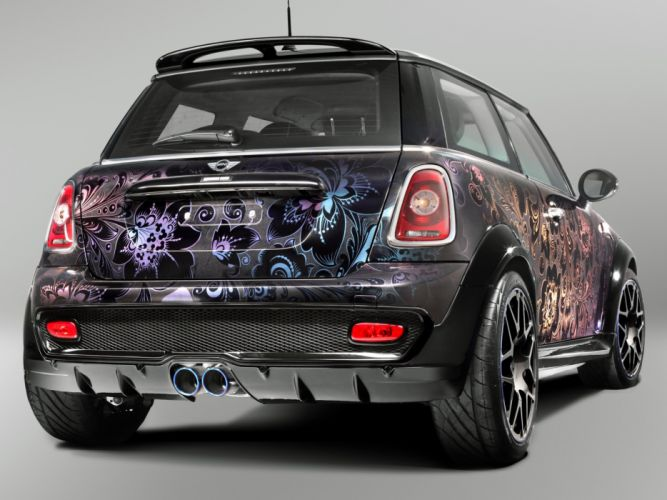 TopCar Mini Cooper-S Bully Moscow cars modified wallpaper