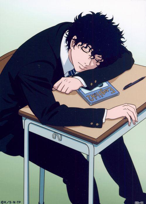 Prince of Tennis Series Akaya Kirihara Character anime boy sleep cute wallpaper