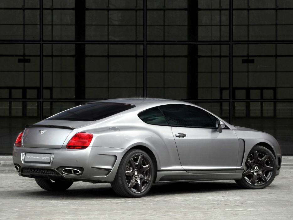 TopCar Bentley Continental-GT cars Bullet modified 2009 wallpaper