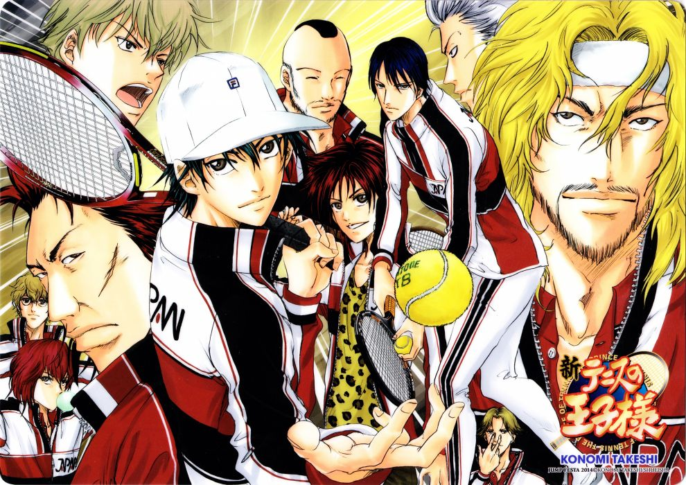 anime sports boys group Prince of Tennis Series Ryoma Echizen Character pencil board wallpaper