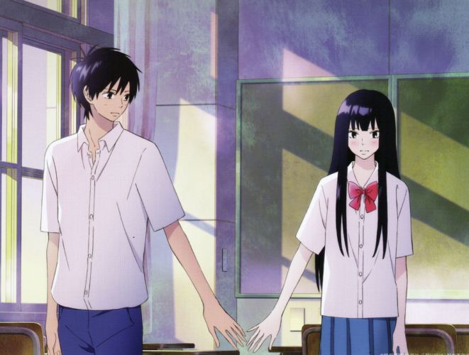 anime couple group cute girl boy Kimi ni Todoke Series wallpaper