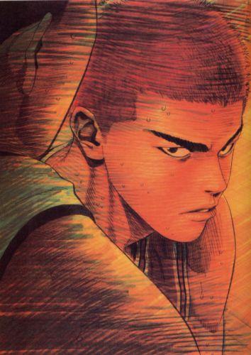 anime sports basketball boy Slam Dunk Series Hanamichi Sakuragi Characters wallpaper