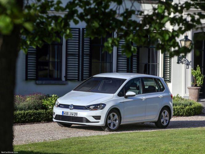 2015 golf sportsvan tsi bluemotion cars white wallpaper