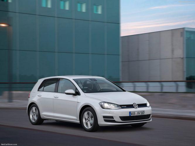 Volkswagen Golf TSI BlueMotion cars 2015 wallpaper
