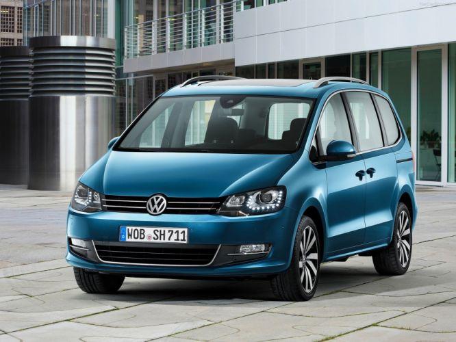 Volkswagen Sharan cars 2016 wallpaper