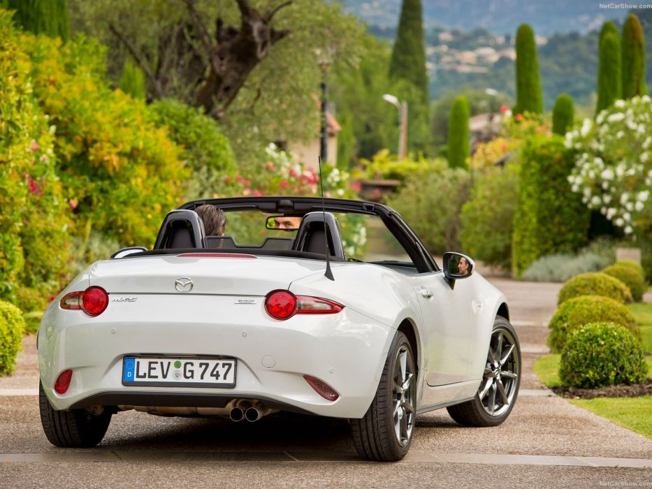 2016 Cars Roadster Convertible Mazda Miata Mx 5 White Wallpaper