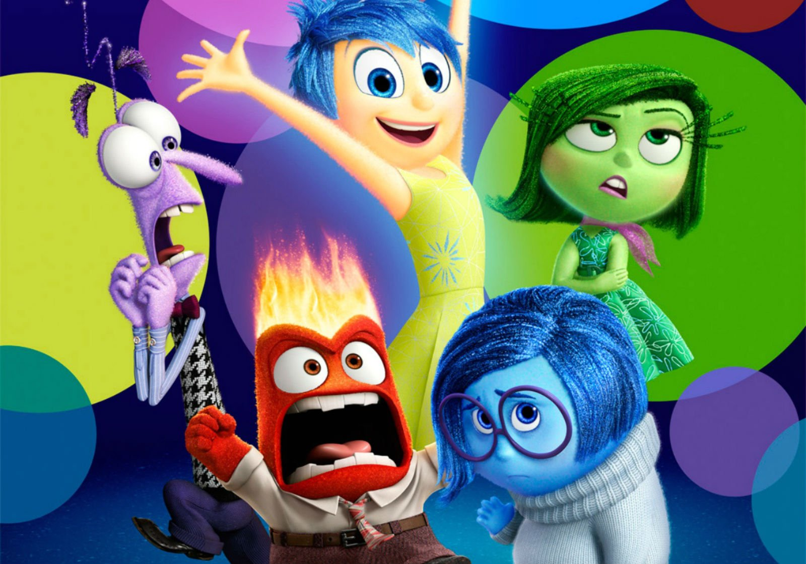 Inside out disney animation humor funny comedy family for Inside movie