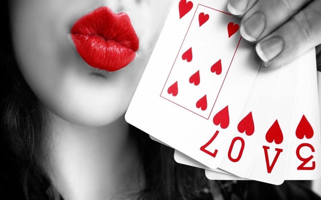 naipes corazones amor love wallpaper