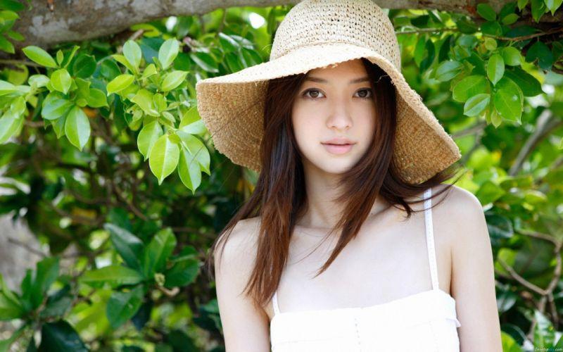 asians - brunettes - Aizawa - Rina - women wallpaper