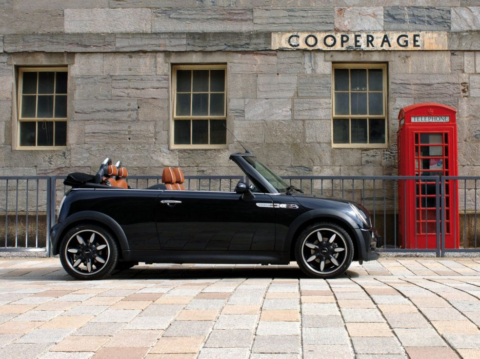 Mini Cooper S Cabrio Convertible Sidewalk Uk Spec Cars 2007