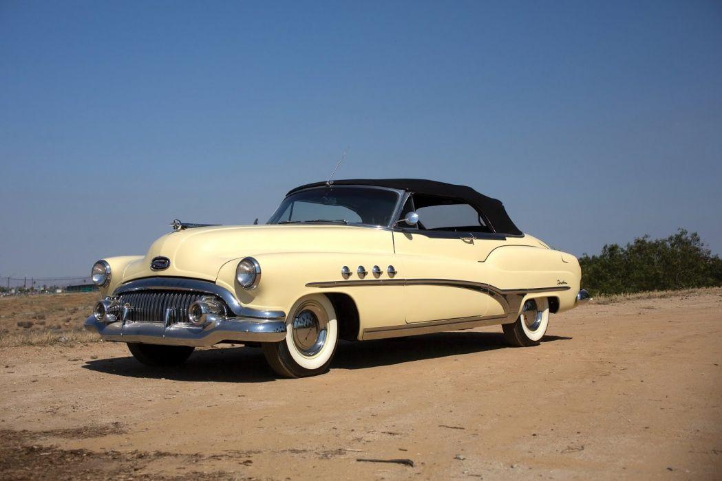 1951 Buick Roadmaster Convertible cars classic wallpaper