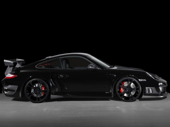 TechArt Porsche 911 Turbo-GT Street-R 997 cars modified 2010 wallpaper
