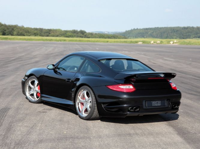 TechArt Porsche 911 Turbo Aerodynamic Kit-II 2010 cars modified wallpaper