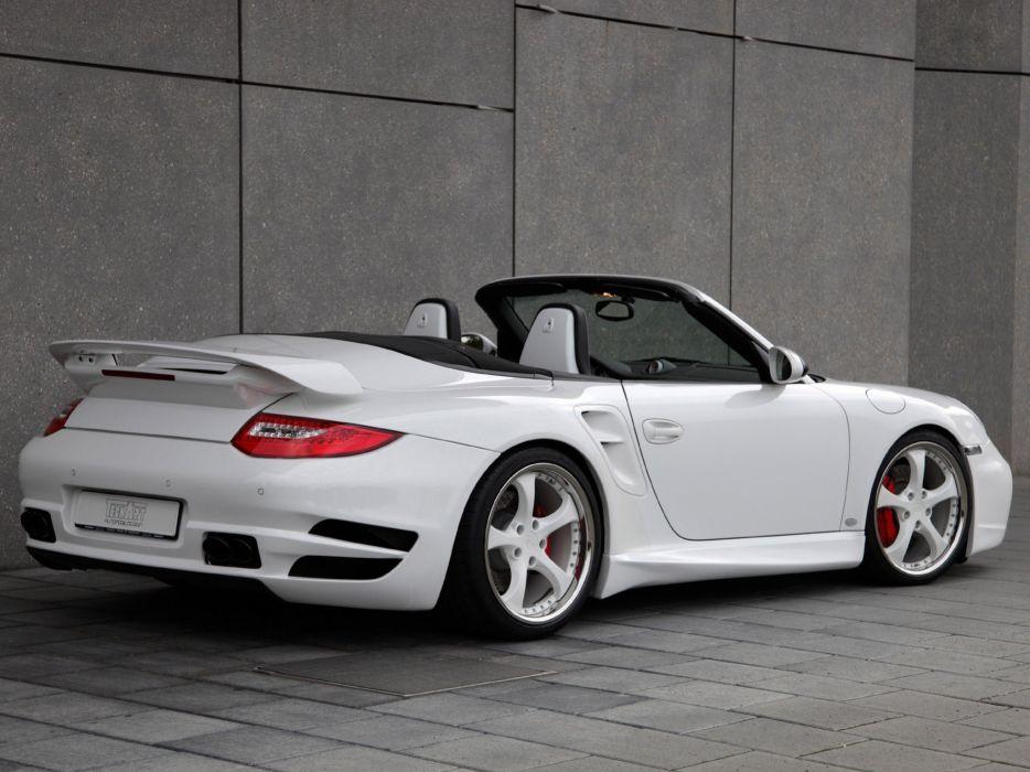 TechArt Porsche 911 Turbo cabriolet convertible Aerodynamic Kit-II 2010 cars modified wallpaper