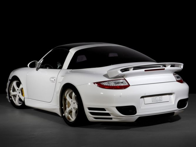 TechArt Porsche 911 Turbo Cabriolet 997 cars modified 2010 wallpaper