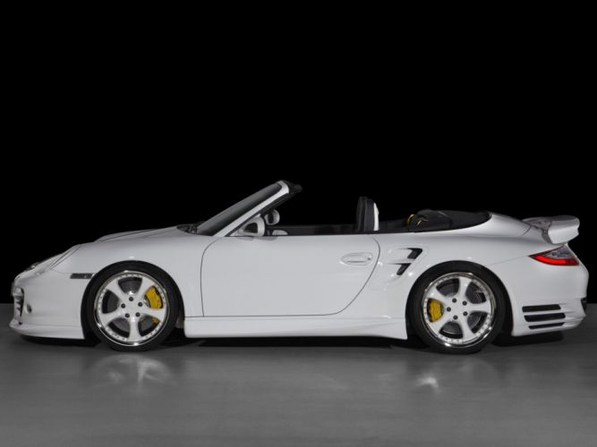 TechArt Porsche 911 Turbo Cabriolet 997 cars modified 2010 wallpaper