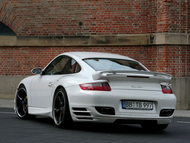 TechArt Porsche 911 Turbo cars modified 2007 wallpaper