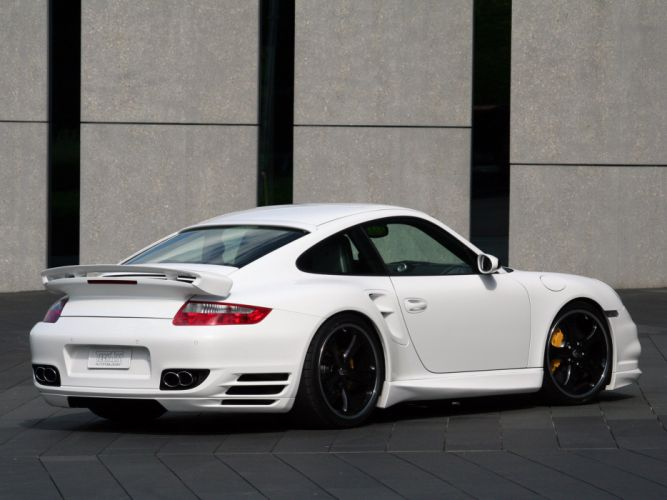 TechArt Porsche 911 Turbo cars modified 2007 wallpaper