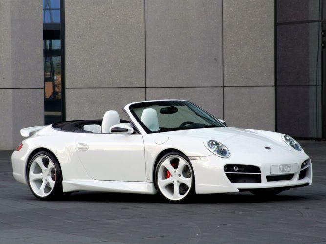 TechArt Porsche 911 Carrera-4S Cabriolet cars modified 2007 wallpaper