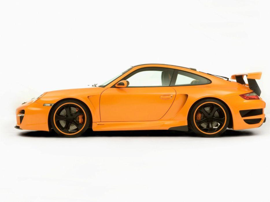 Techart Porsche 911 Turbo Gt Street Cars Modified 2007 Wallpaper