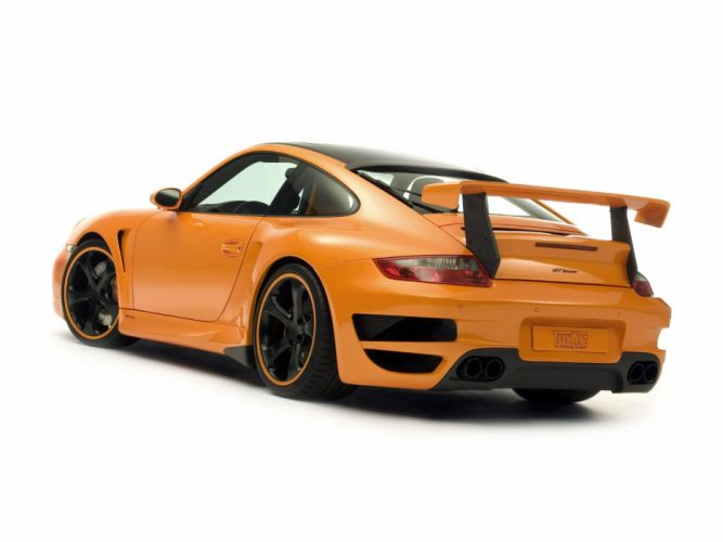 TechArt Porsche 911 Turbo GT-Street cars modified 2007 wallpaper