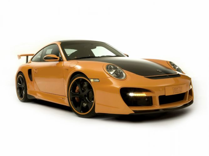 TechArt Porsche 911 Turbo GT-Street cars modified 2007 wallpaper