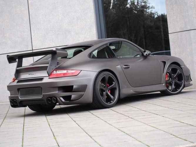 TechArt Porsche 911 Turbo GT-Street-r cars modified 2008 wallpaper