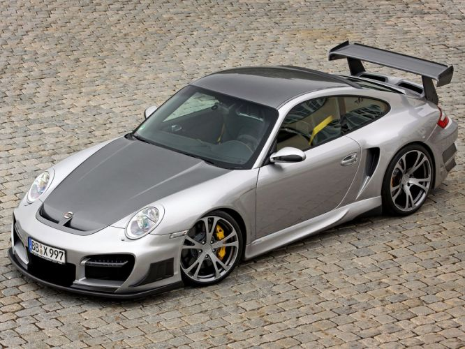 TechArt Porsche 911 Turbo GT-Street-rs cars modified 2008 wallpaper