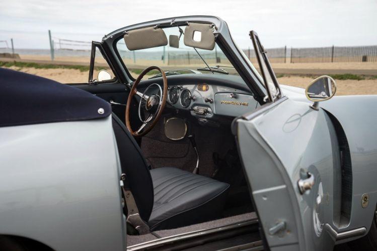 Porsche 356B 1600 Cabriolet Reutter 1960 classic cars wallpaper