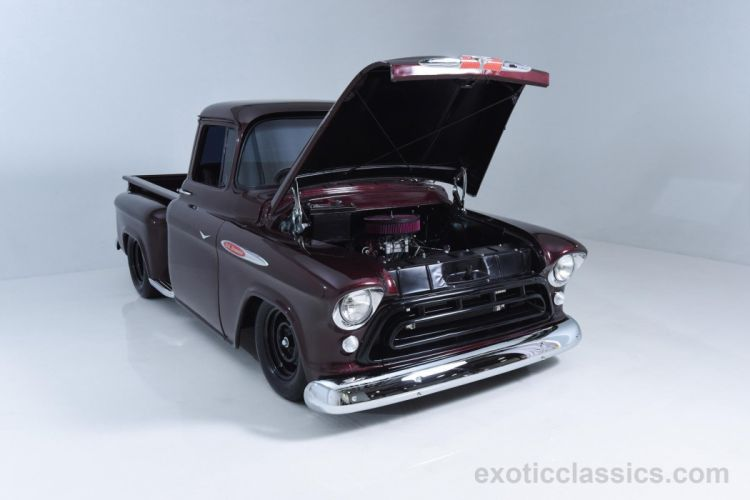 1957 Chevrolet 3100 Short bed Pickup Truck classic cars wallpaper