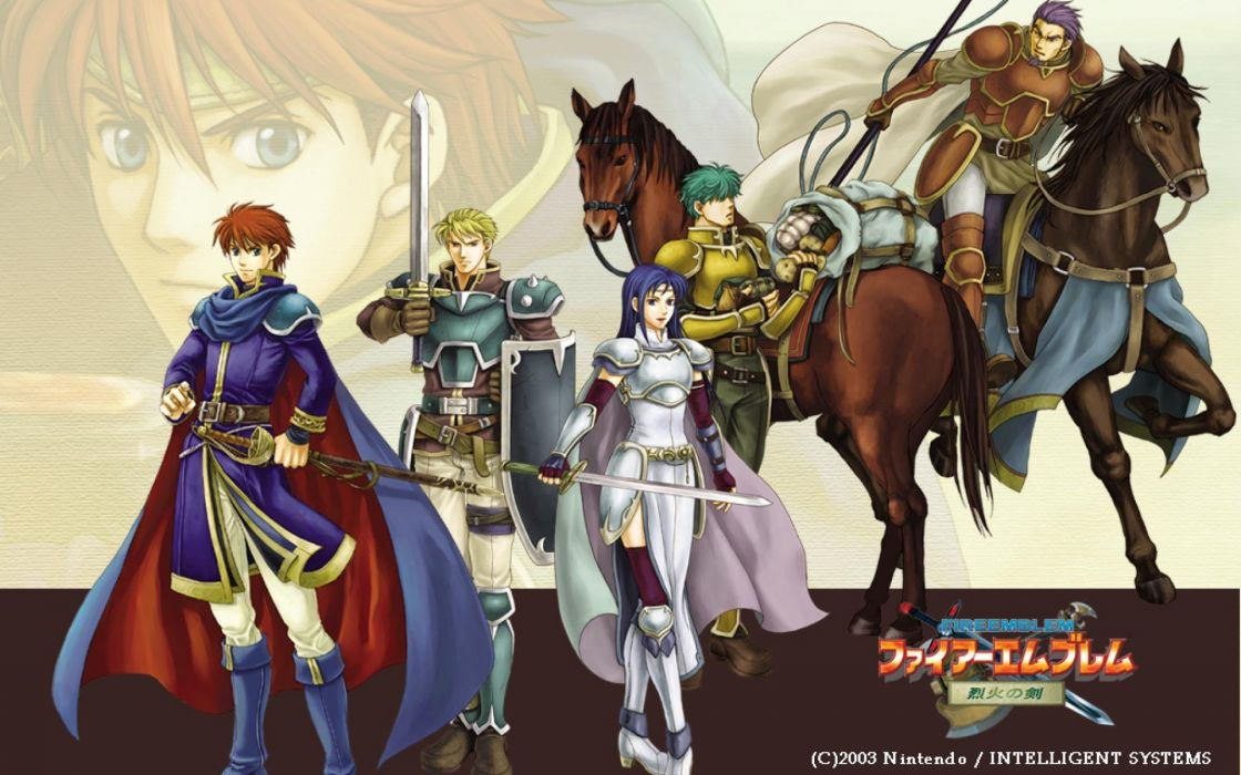FIRE EMBLEM tactical rpg anime manga stealth faiAE emuburemu action fighting nintendo fantasy wallpaper