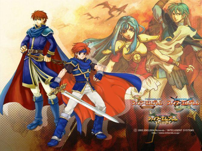 FIRE EMBLEM tactical rpg anime manga stealth faiAE emuburemu action fighting nintendo fantasy wallpaper