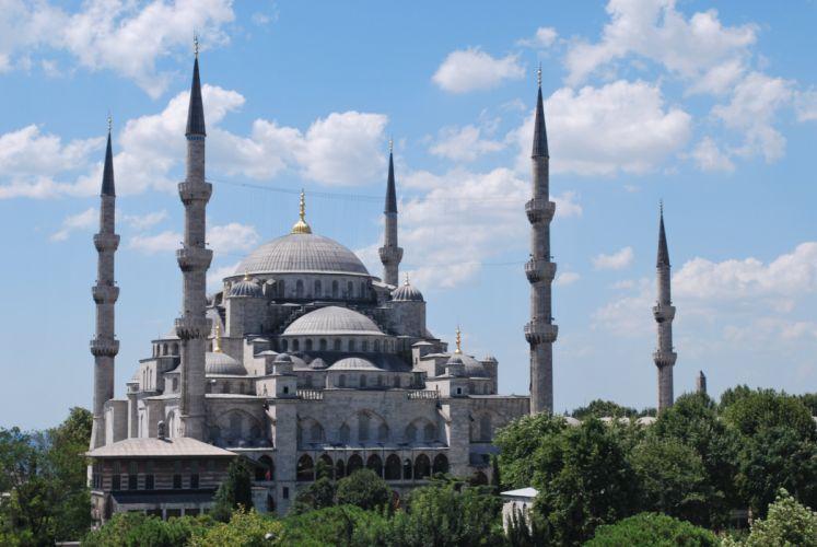 mezquita azul estambul turquia wallpaper