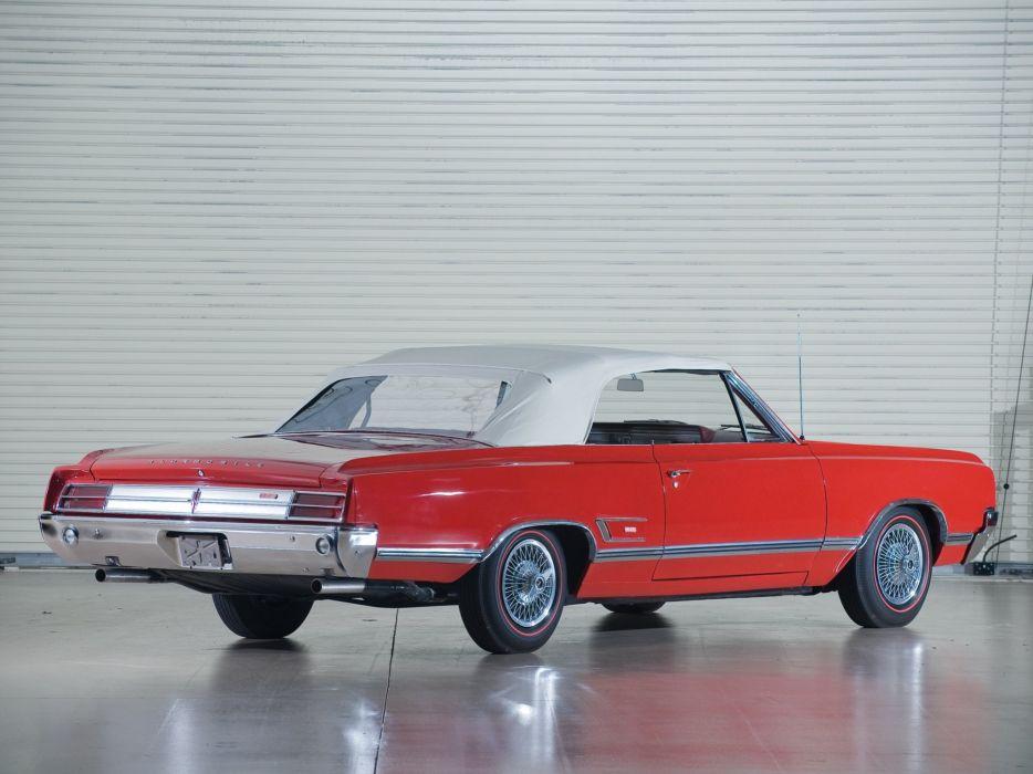 1965 Oldsmobile Cutlass 442 Convertible usa classic cars wallpaper
