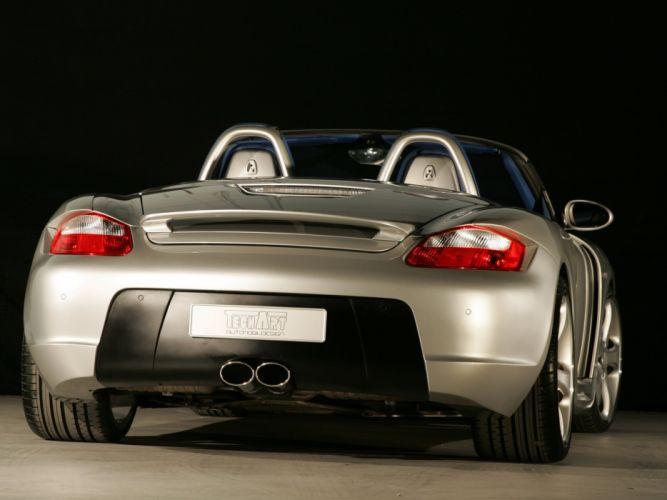 TechArt Porsche Boxster Widebody modidied convertible 2006 wallpaper