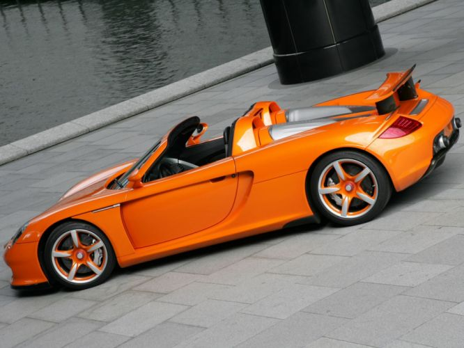 TechArt Porsche Carrera-GT cars supercar modified 2007 wallpaper