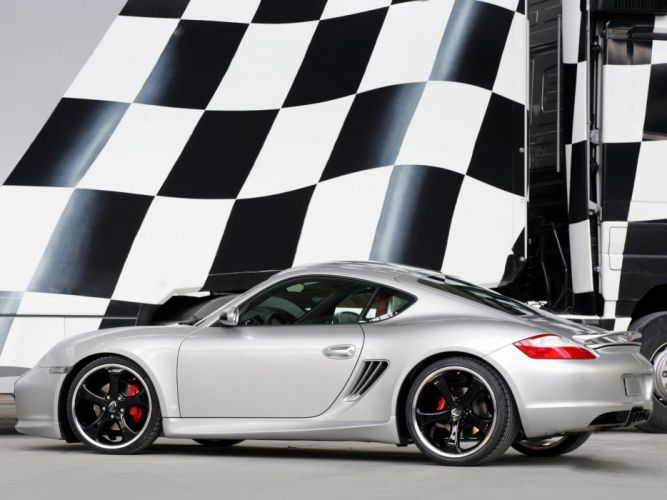 TechArt Porsche Cayman-S coupe cars modified wallpaper
