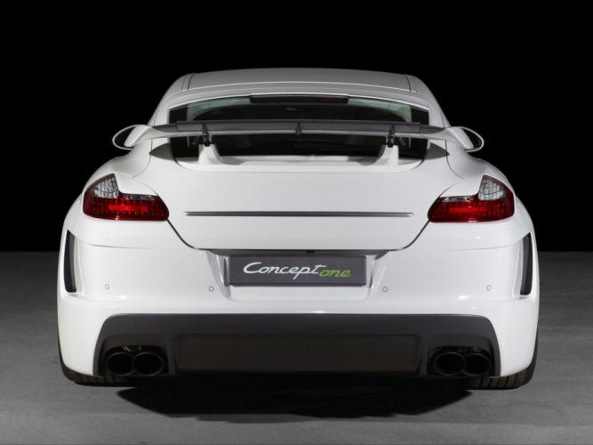 TechArt Porsche Panamera Concept One cars modified wallpaper