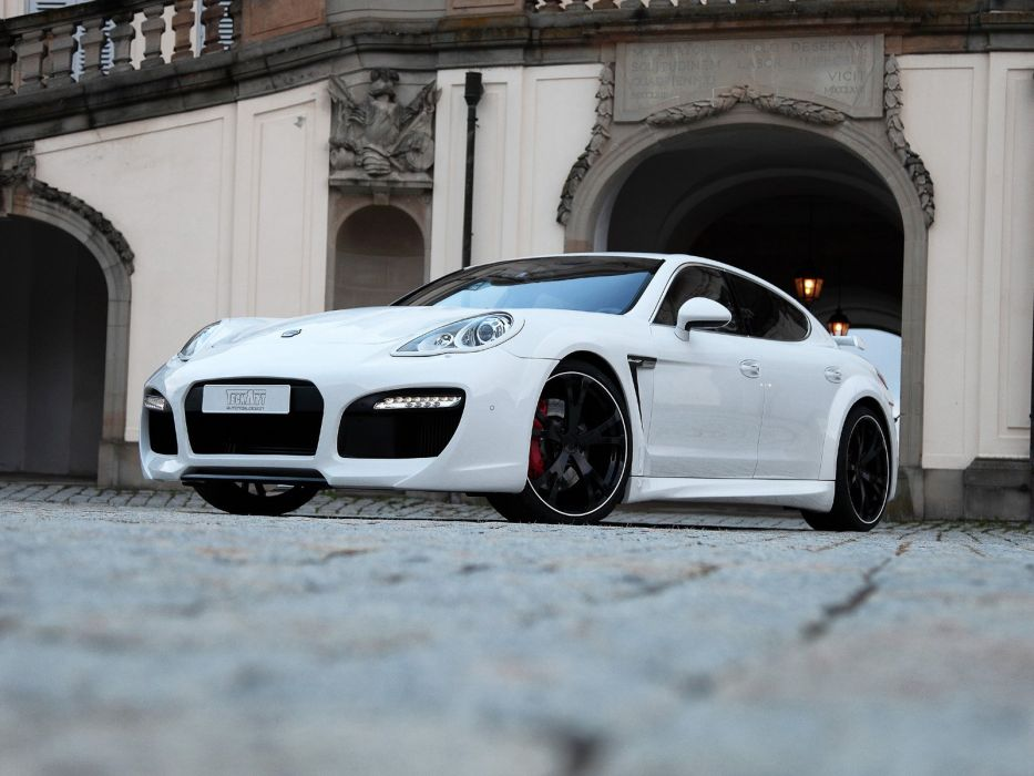 TechArt Porsche Panamera Grand-GT cars modified wallpaper