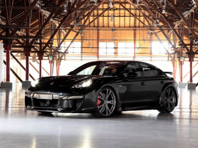 TechArt Porsche Panamera Grand-GT cars modified wallpaper