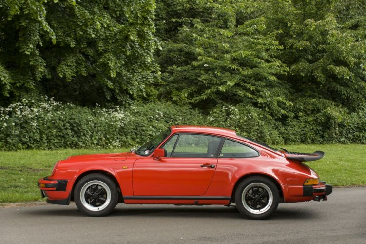 Porsche 911 carrera coupe 1984 cars wallpaper