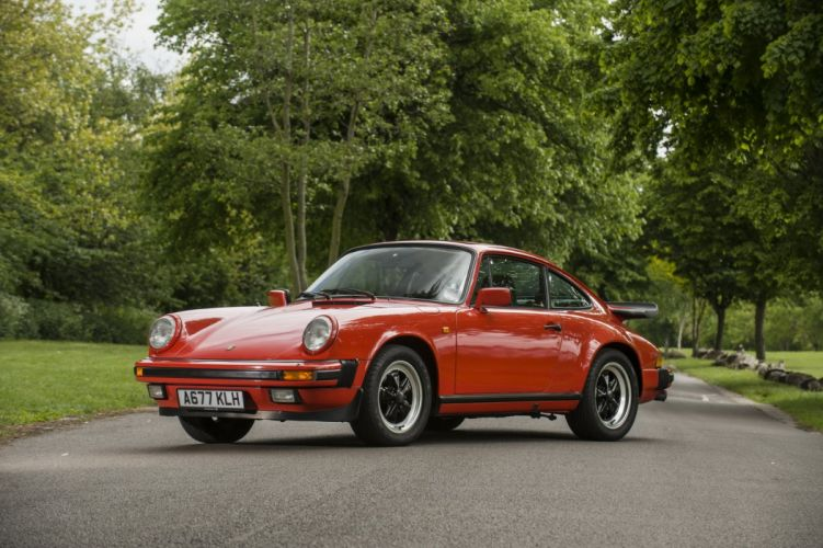 Porsche 911 carrera coupe 1984 cars wallpaper