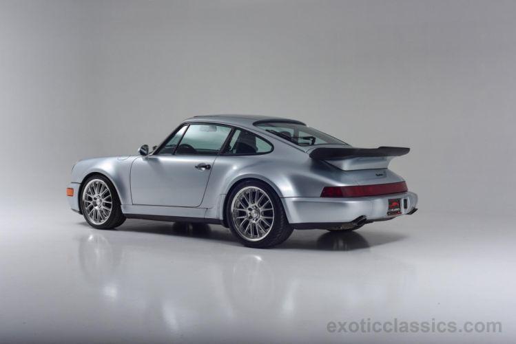 1992 Porsche 964 911 Turbo coupe cars wallpaper
