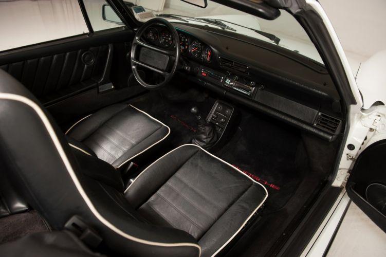 1988 Porsche 930 911 Turbo cabriolet cars wallpaper