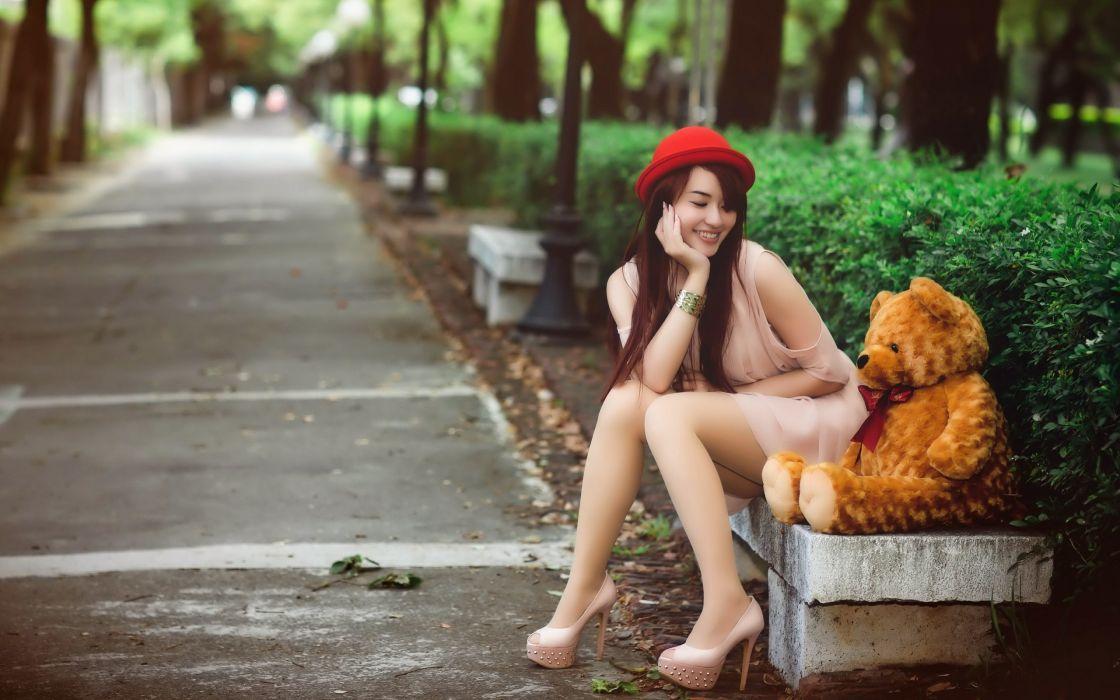 mood model women woman models female girl girls oriental asian wallpaper