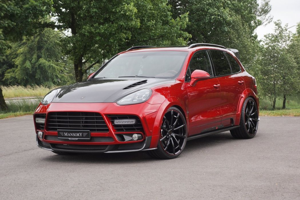 Mansory Porsche Cayenne Turbo carrs modified wallpaper
