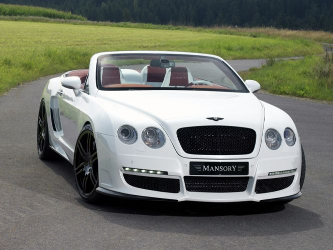 Mansory Bentley Continental GTC cars modified wallpaper
