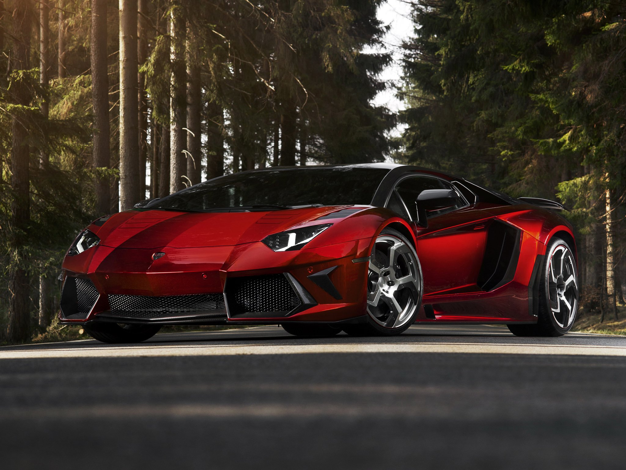Mansory Lamborghini Aventador LP700 4 Cars Modified