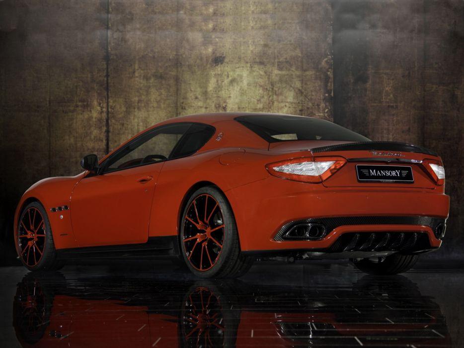 Mansory Maserati GranTurismo cars modified wallpaper